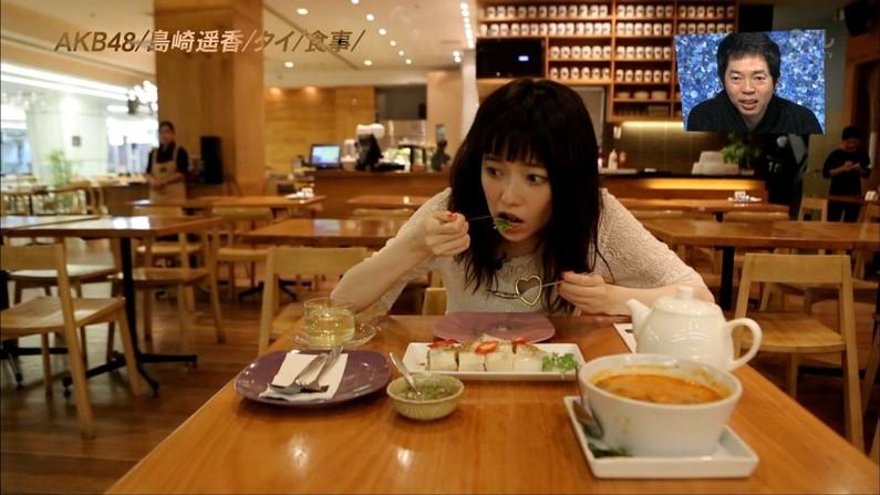 【疑似フェラキャプ画像】どうしても食レポの時にフェラ顔になっちゃうタレント達w 15