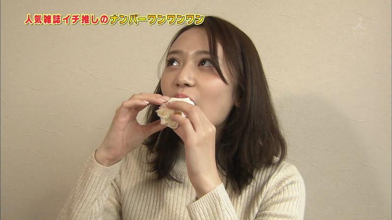 【疑似フェラキャプ画像】どうしても食レポの時にフェラ顔になっちゃうタレント達w 19
