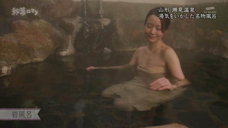 【温泉キャプ画像】やっぱりいつ見てもタレントさん達の入浴シーンってセクシーだよなw 01