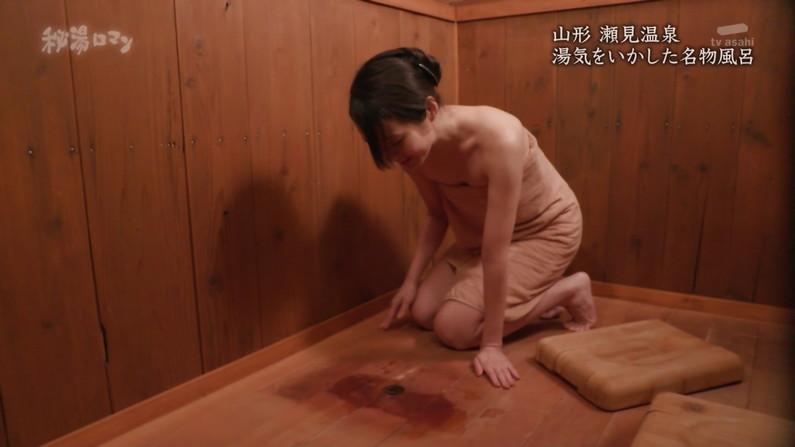 【温泉キャプ画像】やっぱりいつ見てもタレントさん達の入浴シーンってセクシーだよなw 03