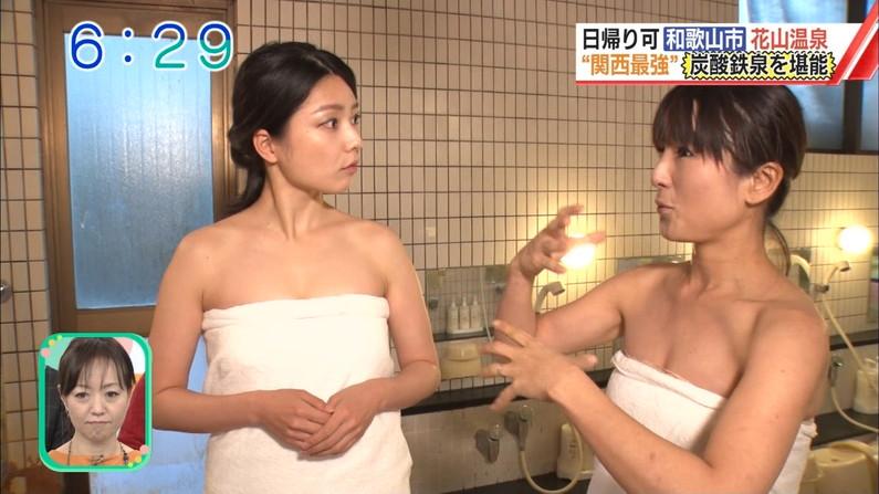 【温泉キャプ画像】やっぱりいつ見てもタレントさん達の入浴シーンってセクシーだよなw 08
