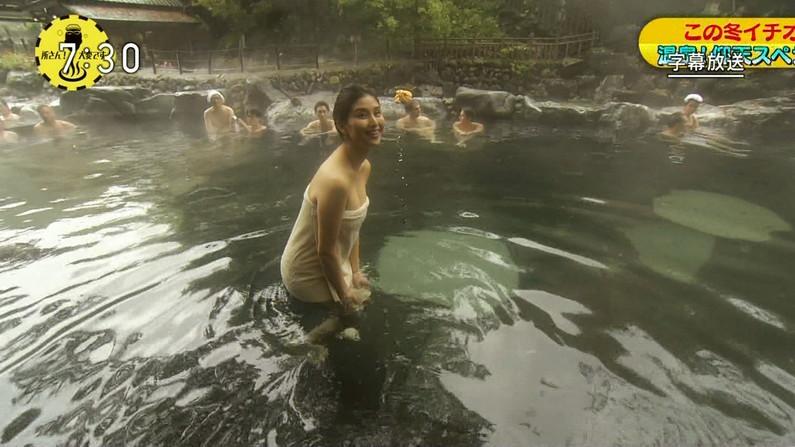 【温泉キャプ画像】やっぱりいつ見てもタレントさん達の入浴シーンってセクシーだよなw 19