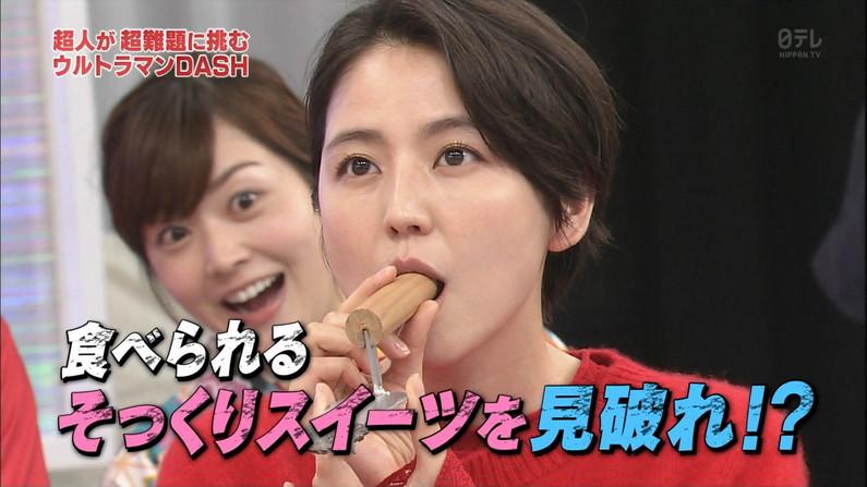 【疑似フェラキャプ画像】このタレント達って食レポしながらフェラの練習でもしてるんでしょうか?ww