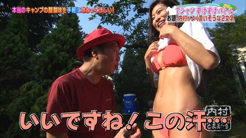 【へそキャプ画像】テレビで見せたおへそとくびれボディーがキュートなタレント達w 07