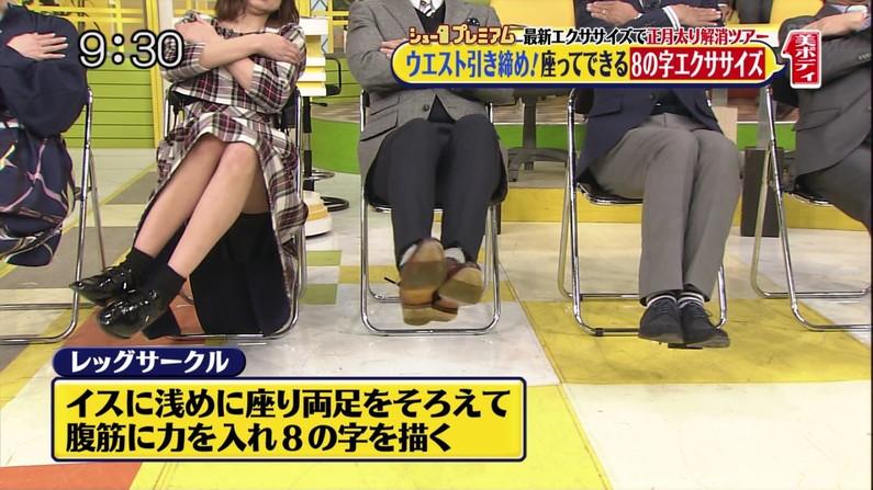 【太ももキャプ画像】テレビで露出するムチムチの太ももがたまらんww 13