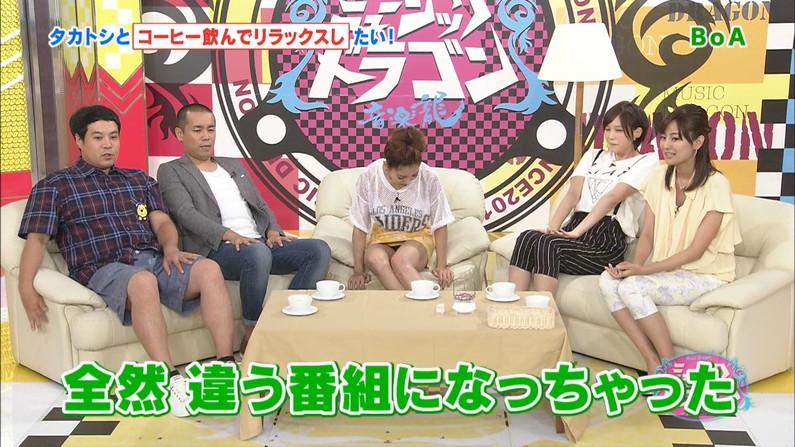 【パンチラキャプ画像】テレビにがっつりパンツ見せちゃったタレント達ww 01