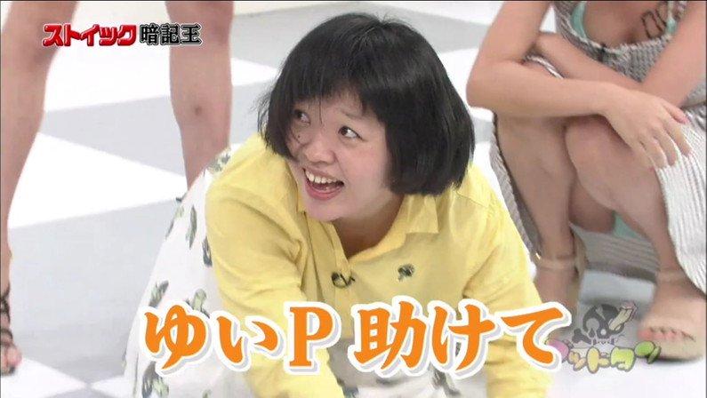 【パンチラキャプ画像】テレビにがっつりパンツ見せちゃったタレント達ww 10