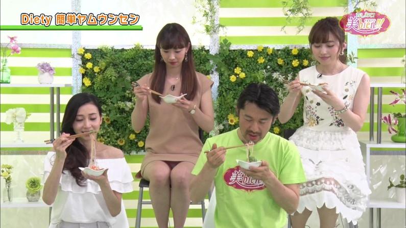 【パンチラキャプ画像】テレビにがっつりパンツ見せちゃったタレント達ww 17
