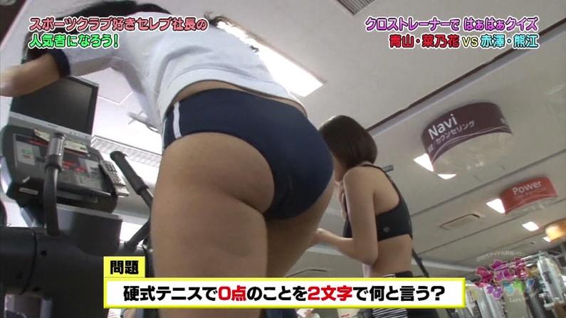 【お尻キャプ画像】ビキニから尻肉はみ出しまくってるタレント達ww 23
