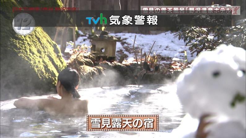 【温泉キャプ画像】タレントさん達のセクシーな温泉レポ入浴シーンw 15