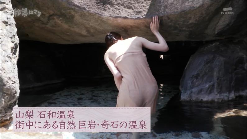 【温泉キャプ画像】タレントさん達のセクシーな温泉レポ入浴シーンw 22