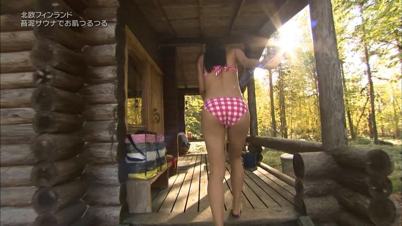 【お尻キャプ画像】テレビに映る美女達がいくら何でもハミ尻し過ぎな件ww 16
