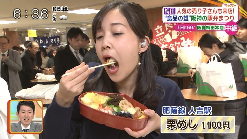【疑似フェラキャプ画像】食レポの時に何でそんなにエロい顔するのか不思議なタレント達w