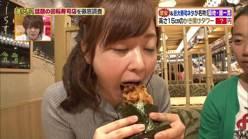 【疑似フェラキャプ画像】食レポの時に何でそんなにエロい顔するのか不思議なタレント達w 07