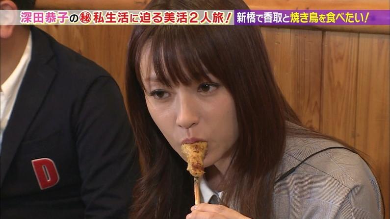【疑似フェラキャプ画像】タレント達の食レポってどう見てもフェラ顔に見えるよなw