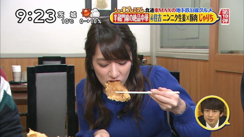 【疑似フェラキャプ画像】タレント達の卑猥な顔しながら食レポする様子がエロすぎるw 10