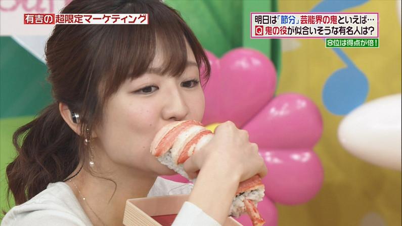【疑似フェラキャプ画像】タレント達の卑猥な顔しながら食レポする様子がエロすぎるw 14
