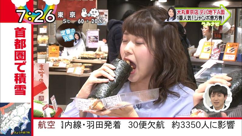 【疑似フェラキャプ画像】タレント達の卑猥な顔しながら食レポする様子がエロすぎるw 19