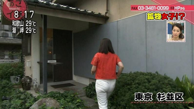 【お尻キャプ画像】ピタパン履いて綺麗なヒップライン見せつけてるタレント達w 11