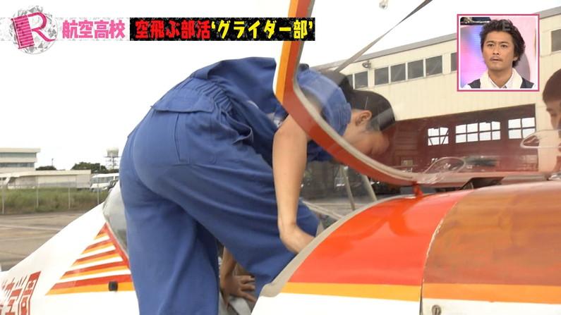 【お尻キャプ画像】ピタパン履いて綺麗なヒップライン見せつけてるタレント達w 17