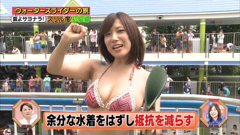 【水着キャプ画像】テレビに出てくる巨乳のビキニ美女ってやっぱりエロいよなw 18