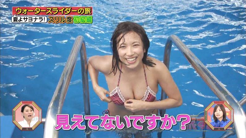 【水着キャプ画像】テレビに出てくる巨乳のビキニ美女ってやっぱりエロいよなw 19