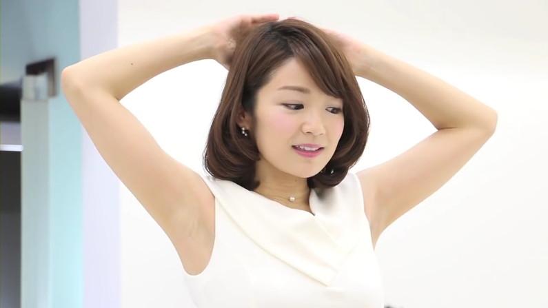 【脇キャプ画像】エロい脇マンコ全開に披露しちゃうタレントさん達w