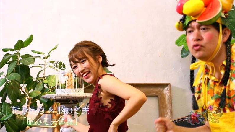 【脇キャプ画像】エロい脇マンコ全開に披露しちゃうタレントさん達w 08
