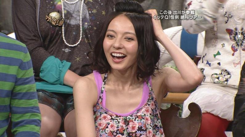 【脇キャプ画像】エロい脇マンコ全開に披露しちゃうタレントさん達w 11