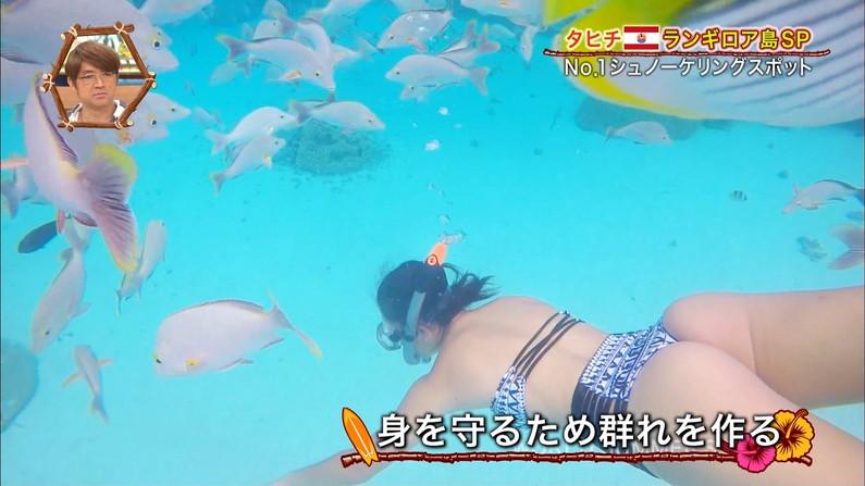 【お尻キャプ画像】Tバック姿やハミ尻しまくってる美女達がテレビに映りまくりw 10