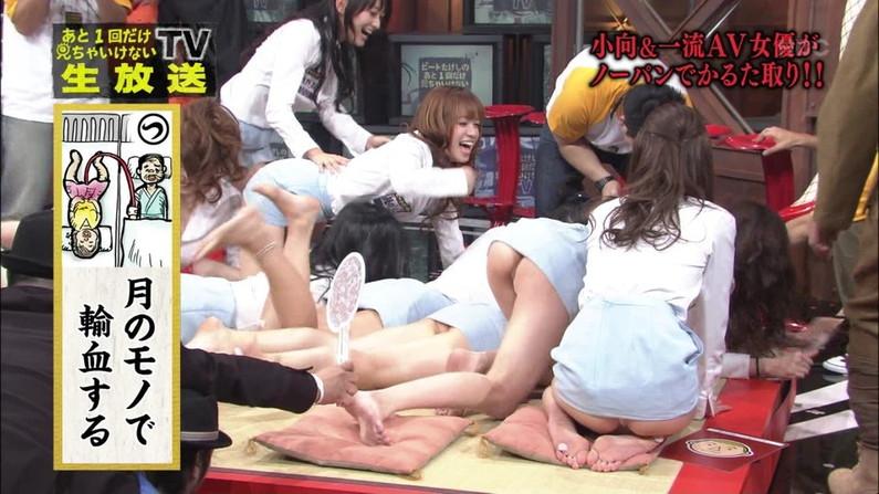 【お尻キャプ画像】Tバック姿やハミ尻しまくってる美女達がテレビに映りまくりw 14