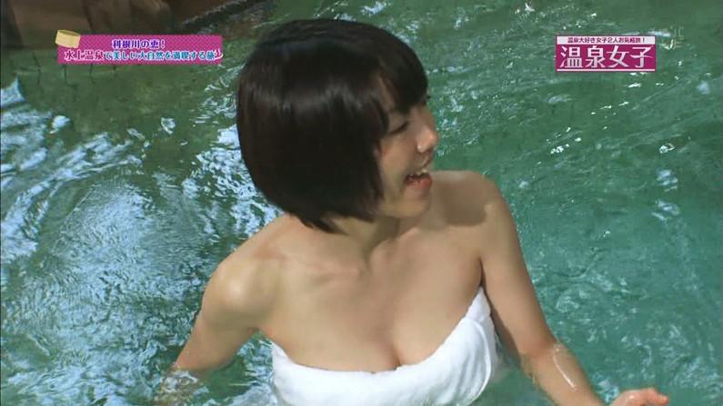 【温泉キャプ画像】温泉よりもオッパイの方が気になる温泉レポw 06