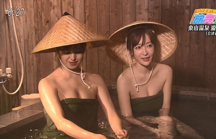 【温泉キャプ画像】温泉よりもオッパイの方が気になる温泉レポw 18