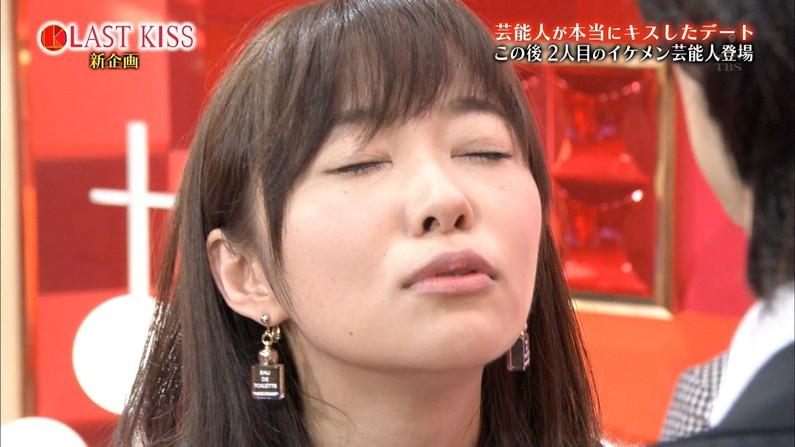 【キスキャプ画像】テレビ越しでもドキドキしちゃうタレントさん達のキス顔やキスシーンw 18