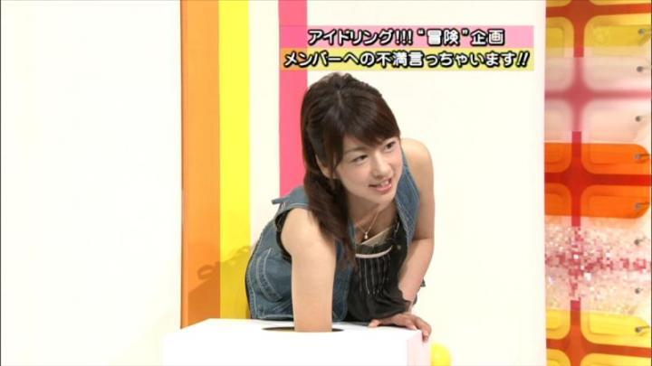 【胸チラキャプ画像】テレビに映ったエロい谷間の美女達w 12