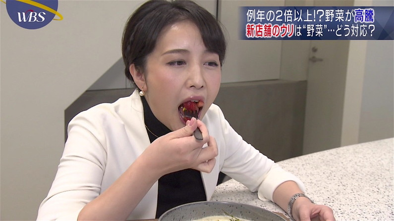 【疑似フェラキャプ画像】やらしい顔しながら食レポするタレントさん達っていったい何考えてるんでしょうね?w 17