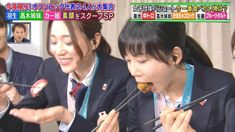 【疑似フェラキャプ画像】どうしてもフェラ顔に見えてきちゃうタレント達の食レポww 12