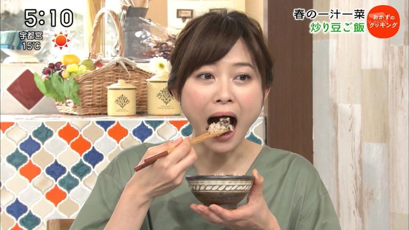 【疑似フェラキャプ画像】大きな口空けてやらしい顔しながら食レポしてるタレント達w 18