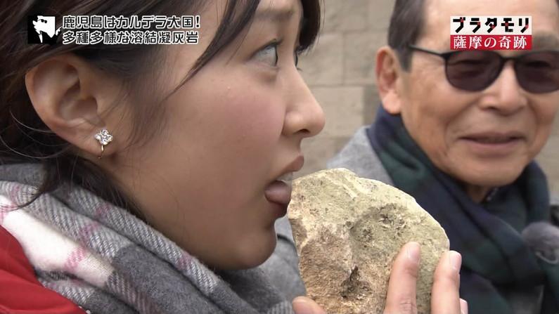 【疑似フェラキャプ画像】大きな口空けてやらしい顔しながら食レポしてるタレント達w 23