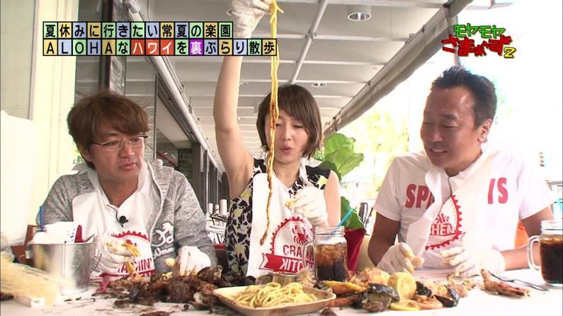 【脇キャプ画像】脇マンコと呼ばれてもおかしくないタレント達のエロい脇w 04