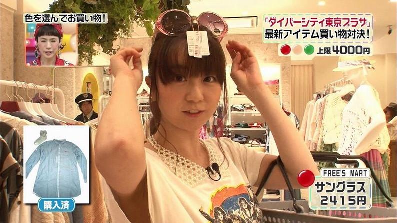 【脇キャプ画像】脇マンコと呼ばれてもおかしくないタレント達のエロい脇w 13