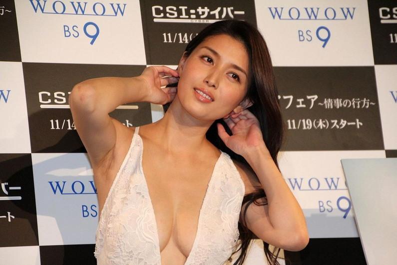 【脇キャプ画像】脇マンコと呼ばれてもおかしくないタレント達のエロい脇w 16