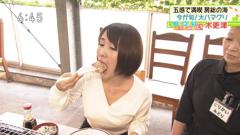 【疑似フェラキャプ画像】疑似フェラしてるように食レポしてるタレント達w