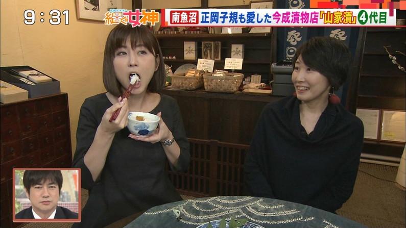 【疑似フェラキャプ画像】疑似フェラしてるように食レポしてるタレント達w 01