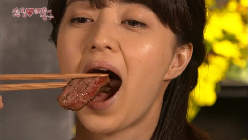 【疑似フェラキャプ画像】疑似フェラしてるように食レポしてるタレント達w 03