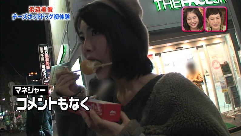 【疑似フェラキャプ画像】疑似フェラしてるように食レポしてるタレント達w 11