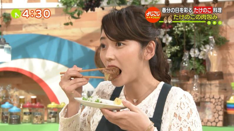 【疑似フェラキャプ画像】疑似フェラしてるように食レポしてるタレント達w 21
