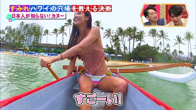 【ハプニングキャプ画像】お股広げすぎたタレント達がマンコ見えかけてるw 03