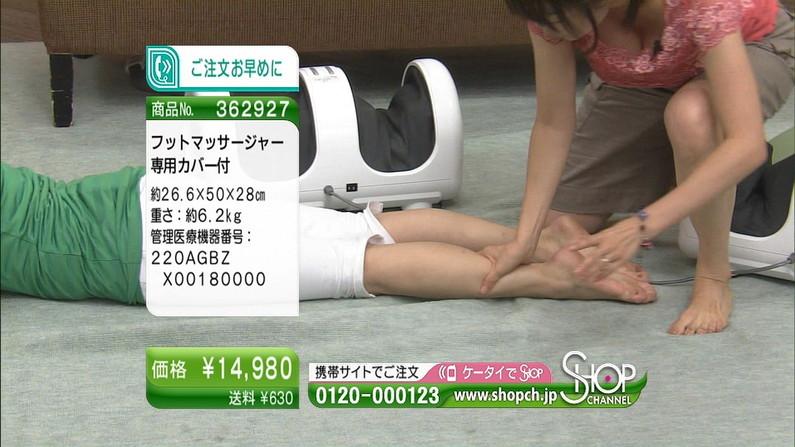 【足裏キャプ画像】こんな美人なタレントさんの足の裏で足こきされてみたいなw 09