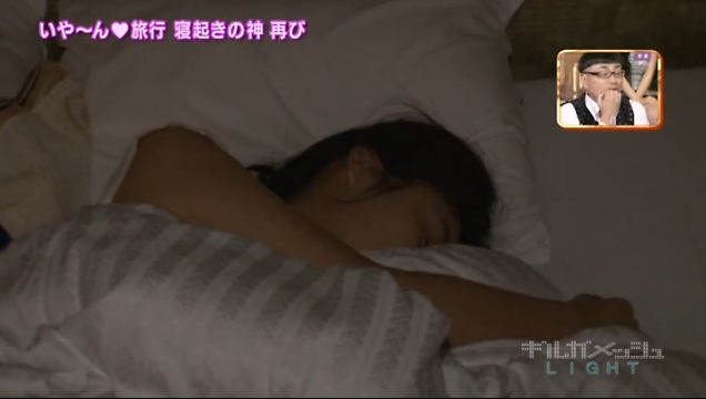【寝顔キャプ画像】マジでタレントさん達の寝顔って可愛いですよねw 16